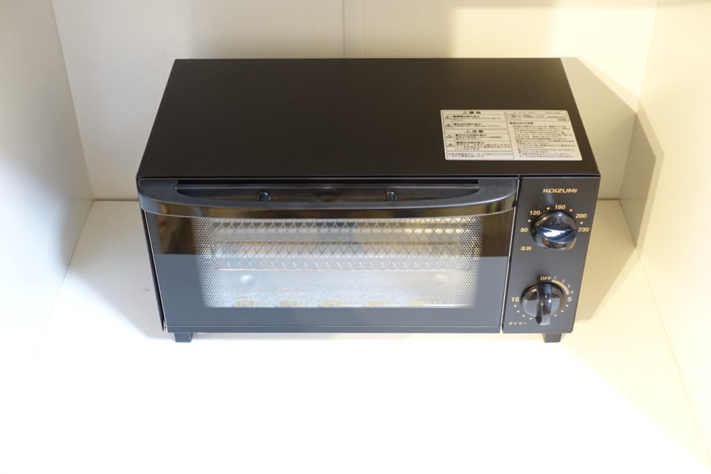 新しいトースターにコイズミ KOS-1027を購入!