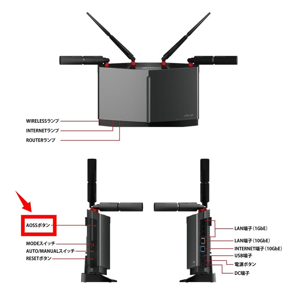 GalaxyをWi-Fi(無線LAN)に接続する AOSS