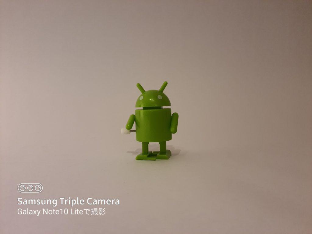 Galaxy Note10 Liteの透かし