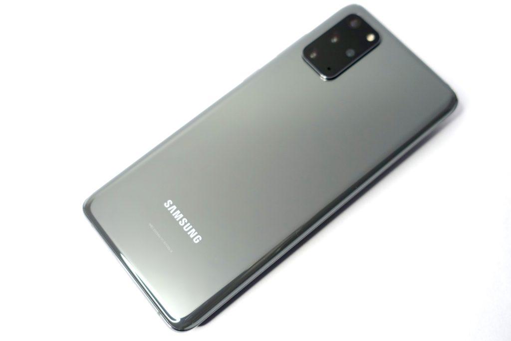 レビュー Galaxy S20+