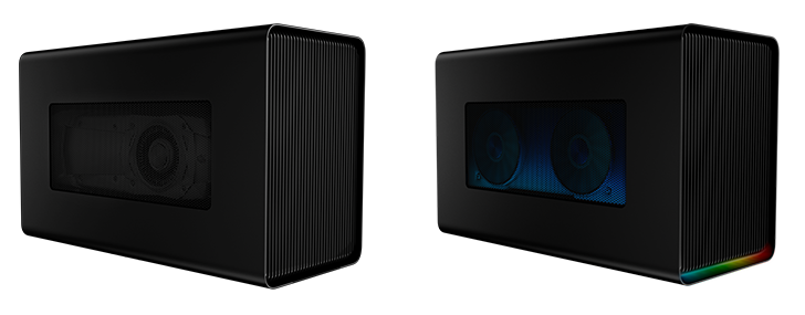 eGPU Box Razer Core X & Razer Core X Chroma