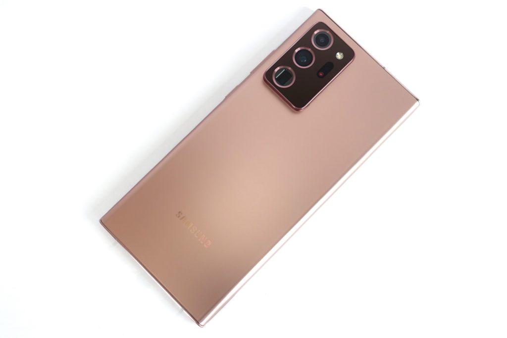 【レビュー】Galaxy Note20 Ultra 外観 / カメラ / Good, Badポイント