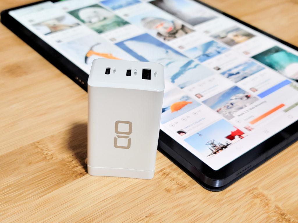 Galaxy Tab S7+ 充電テスト