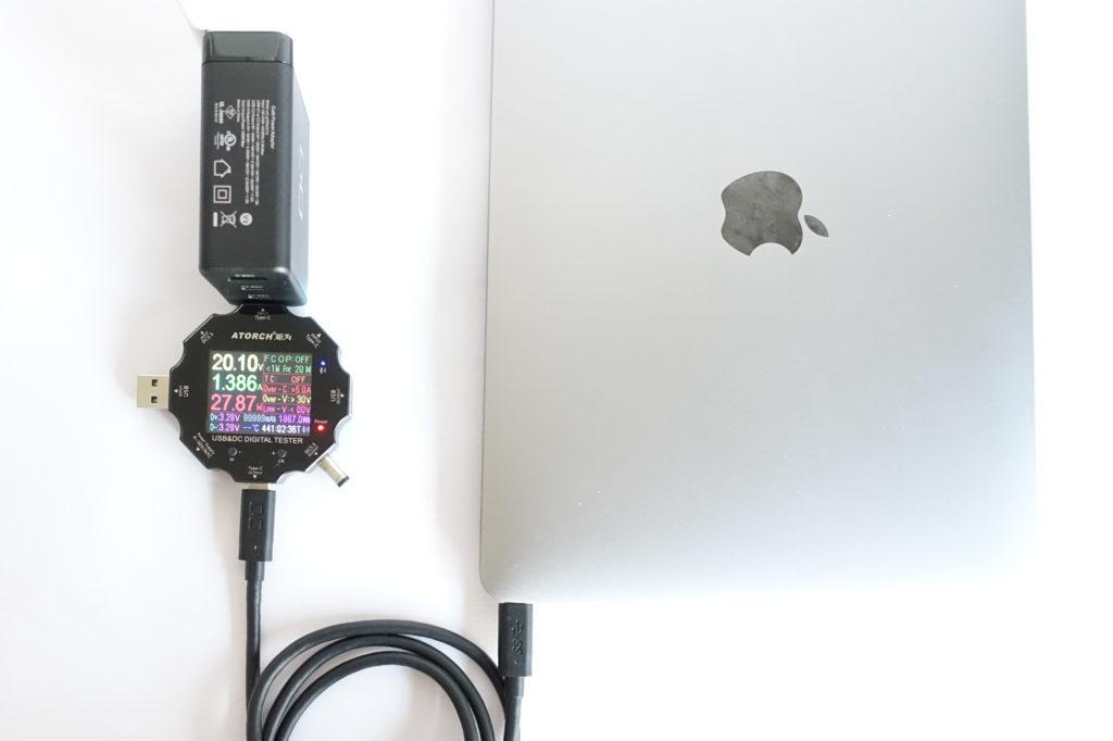 LilNob3C1AでPCの充電をテスト!
