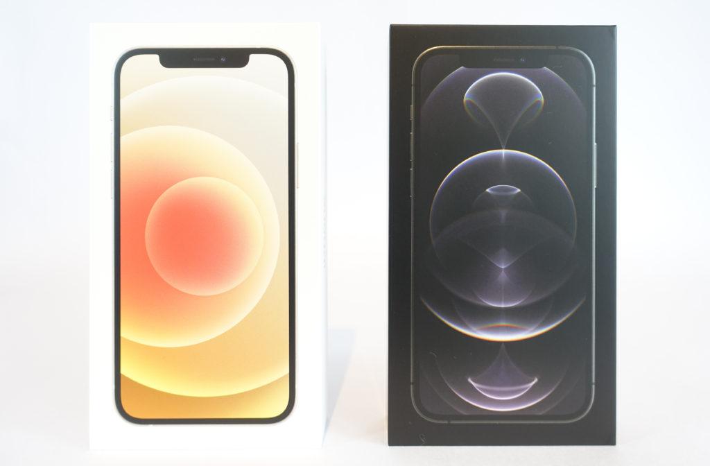 iPhone 12 / 12 Proのスペックを比較!