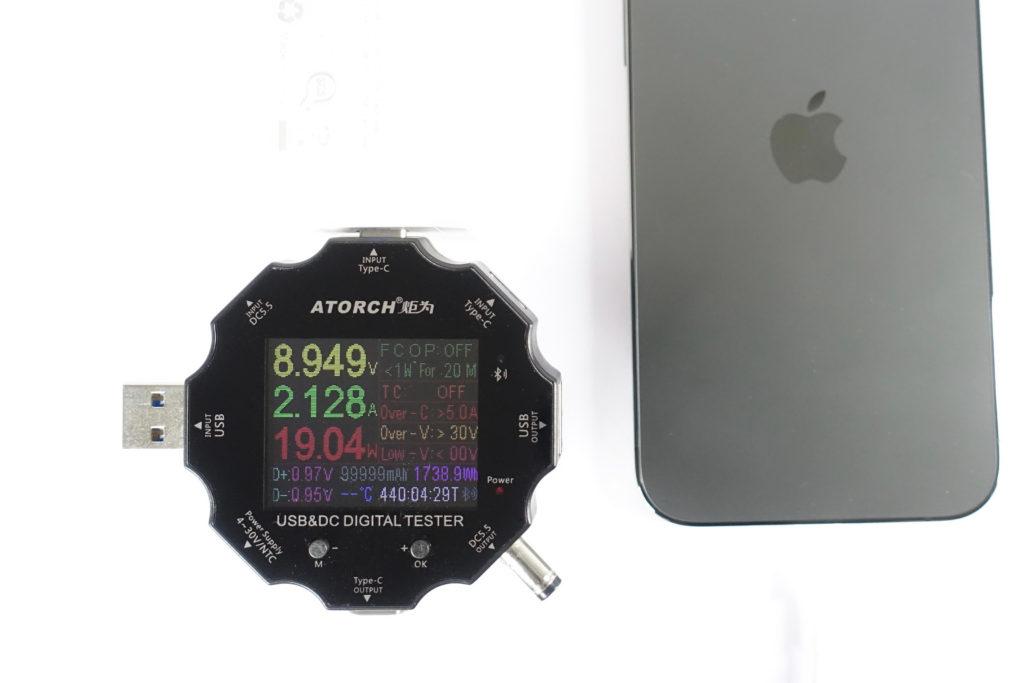 CHOETECH PD6008で「iPhone 12 Pro」を充電!