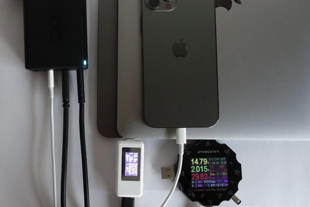 LilNob3C1Aで同時充電をテスト!