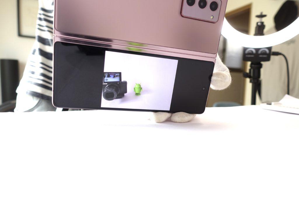 Galaxy Z Fold2 5G のカメラ