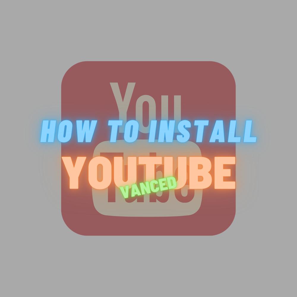 【バックグラウンド再生】YouTube Vancedのインストール方法
