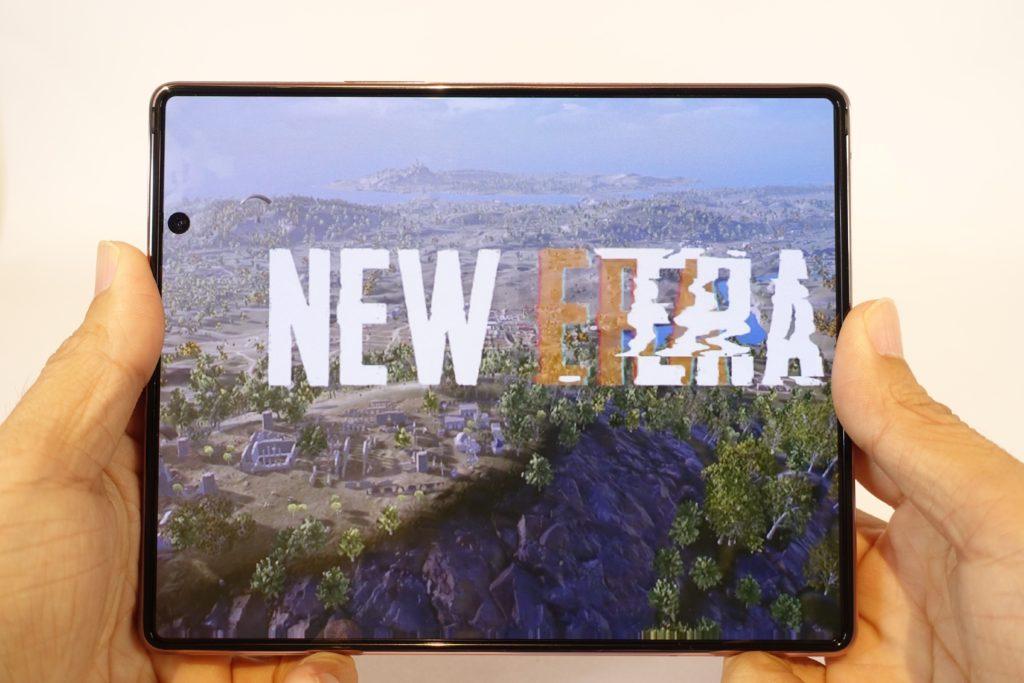 Galaxy Z Fold2 5G 大画面で動画やゲームを楽しむ!