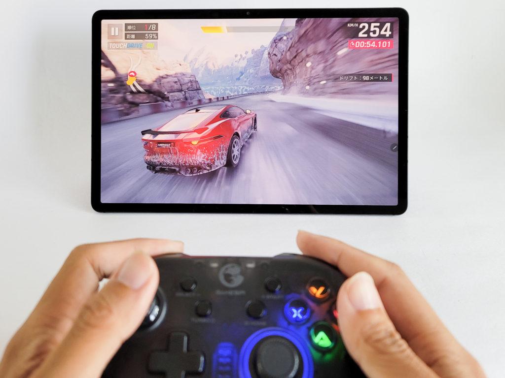 Galaxy Tab S7+でゲームをプレイ
