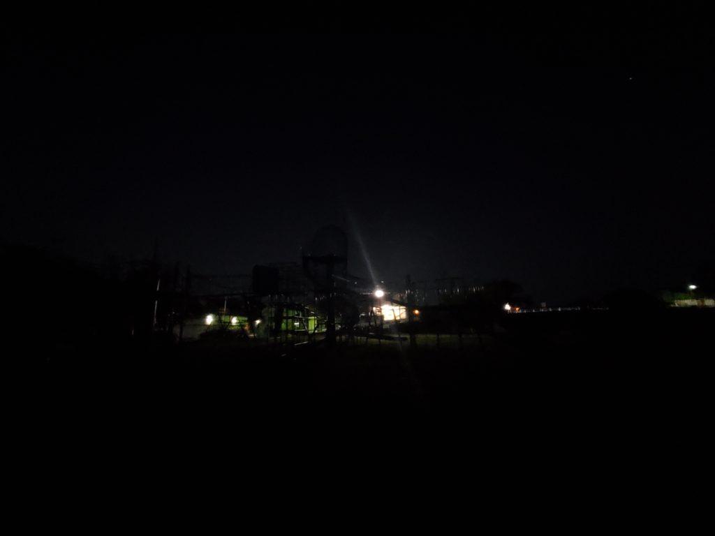 Galaxy Tab S7+ 暗所撮影