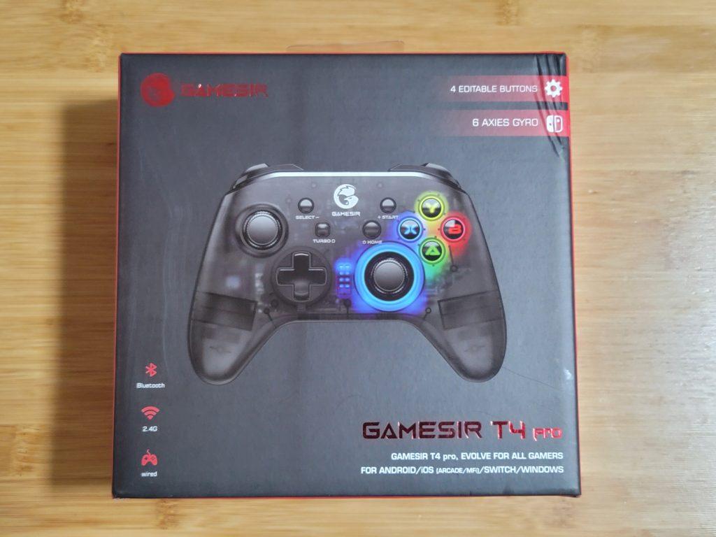 GameSir T4 proの外観と機能をチェック
