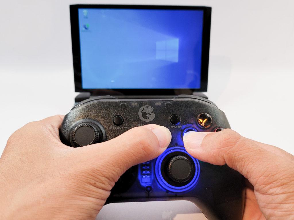 GameSir T4 proをPCと接続