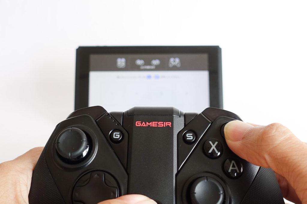 Nintendo SwitchでG4proをテスト!