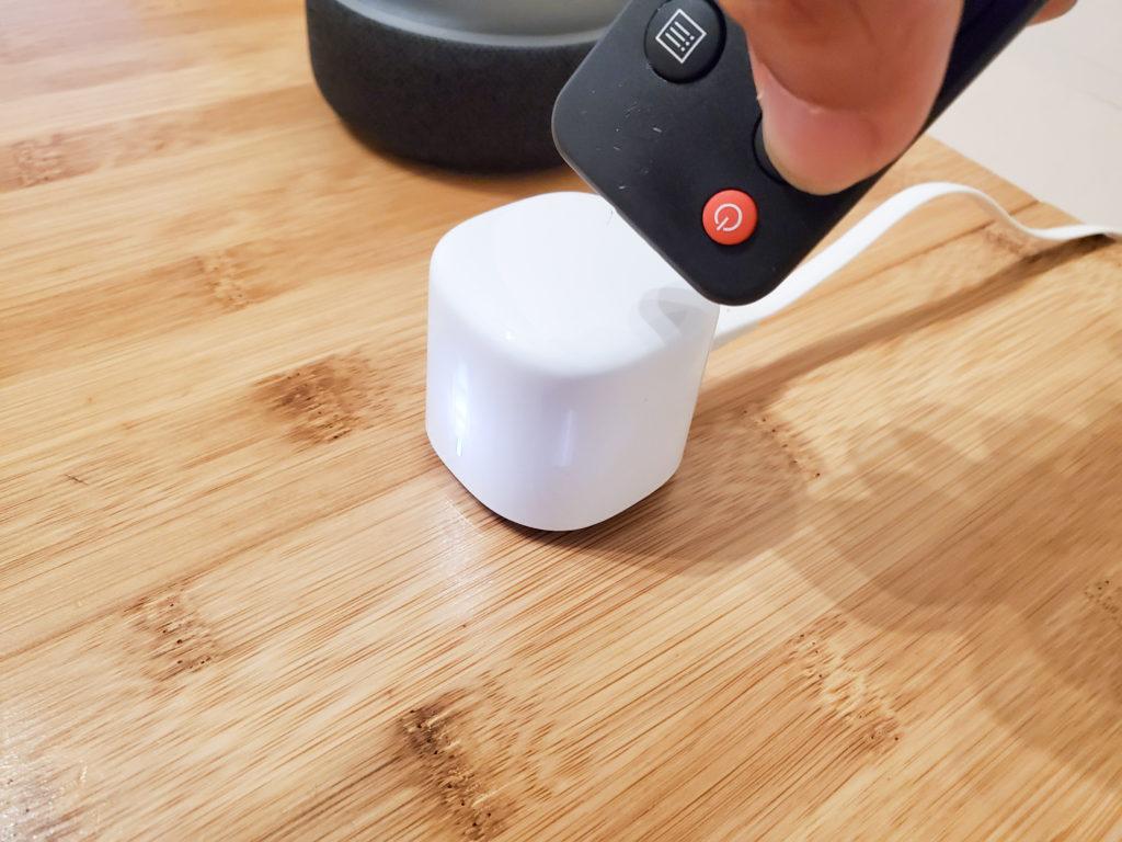 Echo Dotで家電も操作できる
