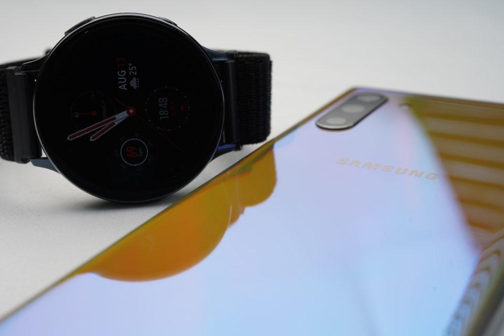 Galaxy Watch Active2をスマホに接続!